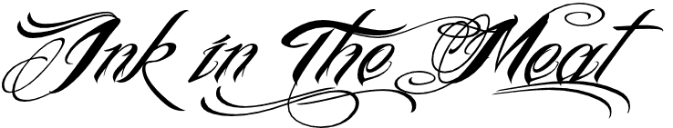 ink in the meat0 10 Most Popular Script & Calligraphy Fonts