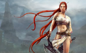 Heavenly Sword 211 300x187 Girls in Games | 30 Wallpapers Collection