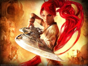 Heavenly Sword 22 300x225 Girls in Games | 30 Wallpapers Collection