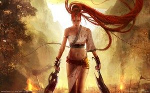 Heavenly Sword11 300x187 Girls in Games | 30 Wallpapers Collection