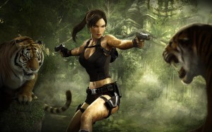Lara Croft 31 300x187 Girls in Games | 30 Wallpapers Collection