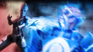 Liara Mass Effect 21 300x168 Girls in Games | 30 Wallpapers Collection