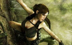 tomb raider1 300x187 Girls in Games | 30 Wallpapers Collection