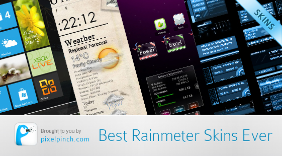 Best Rainmeter Skins Ever Best Rainmeter Themes / Skins Collection   2011