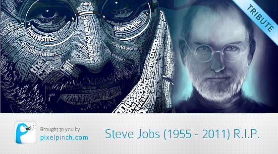 Steve Jobs RIP Steve Jobs Tribute Artworks & Illustrations