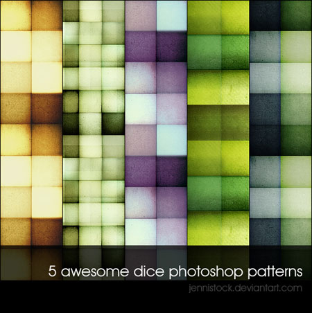 Dice patterns by JenniStock 20 Useful Background Pattern Collection