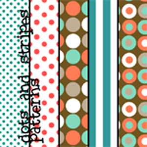 Dots and Stripes Patterns by colourgallery 20 Useful Background Pattern Collection
