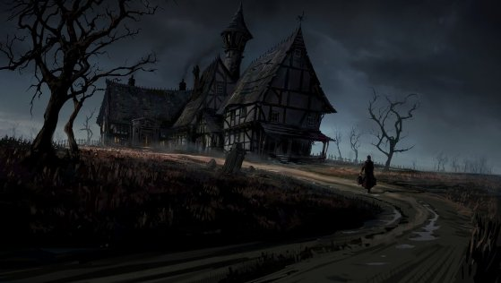 The Inn by skybolt 20 Fresh, Best & Scary Halloween Artworks Of Year 2011