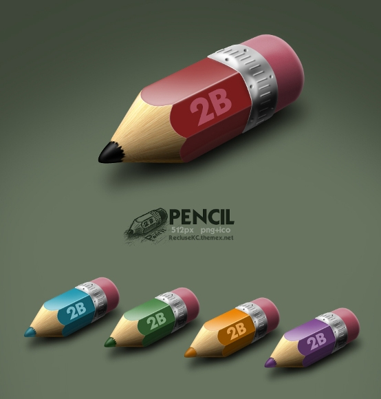 pencil by reclusekc d4g8e2r Fresh & Best Icon Collection Of The Month November #4