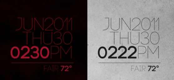rainmeter encoded v1 2 2 by lilshizzy Best date, time and calendar Rainmeter skins / themes