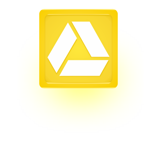 Google Drive Yellow Glow New Google Drive Free Vector and PNG Icon Pack 2012