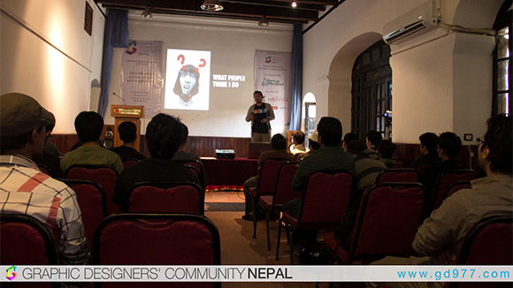 Graphic Design Meet talk World Graphic / Communication Design Day Celebrated in Kathmandu by Graphic Designers Community Nepal