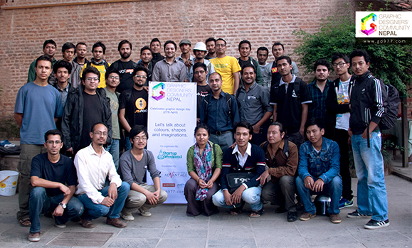 gd977 World Graphic / Communication Design Day Celebrated in Kathmandu by Graphic Designers Community Nepal